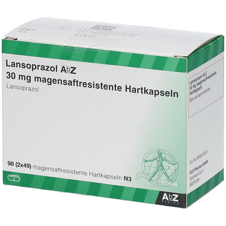 Langsoprazol AbZ 30 mg