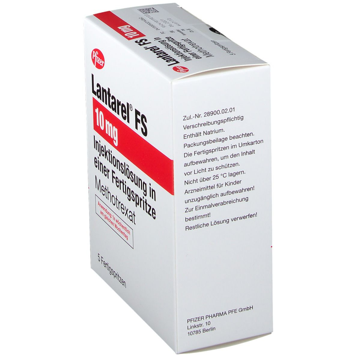 Lantarel® FS 10 mg Fertigspritzen