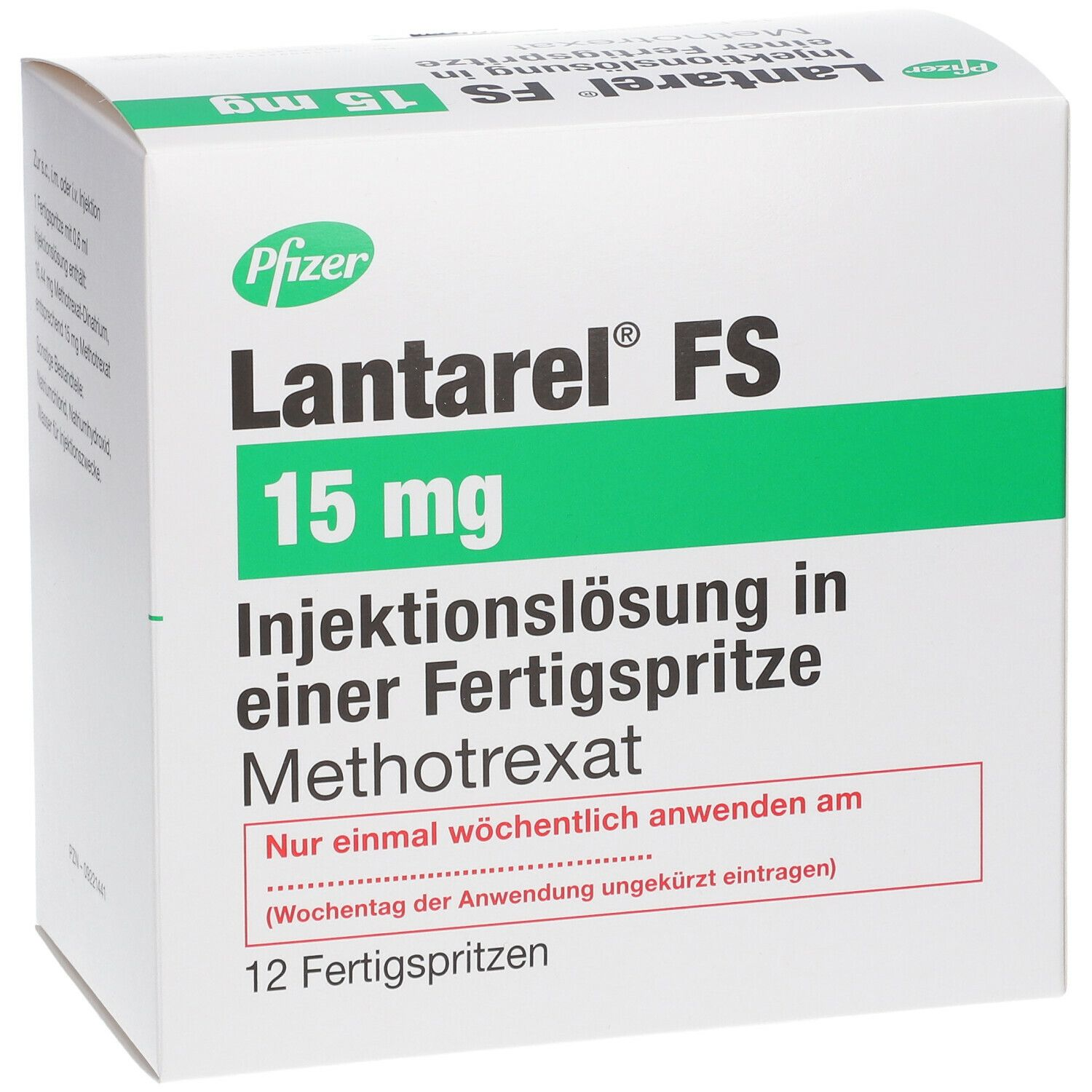 LANTAREL FS 15 mg 25 mg/ml