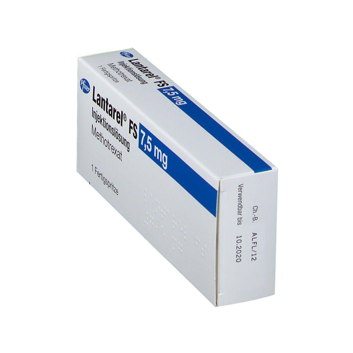 LANTAREL FS 7,5 mg 25 mg/ml Fertigspritzen