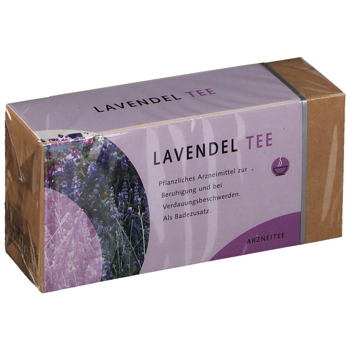 Lavendelblüten Tee