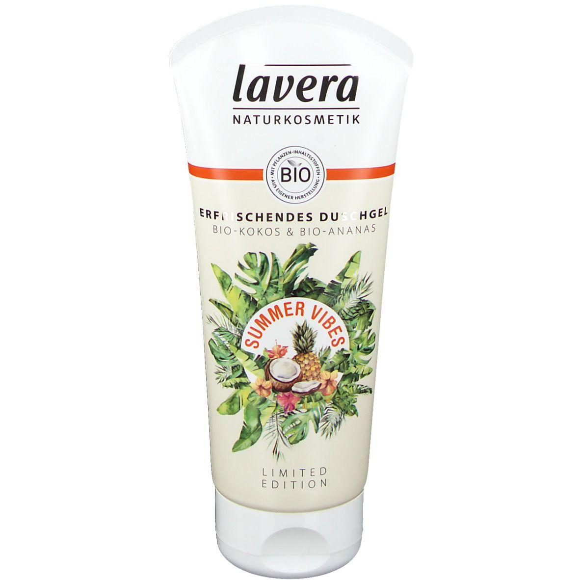 lavera Summer Vibes Erfrischendes Duschgel - Limited Edition
