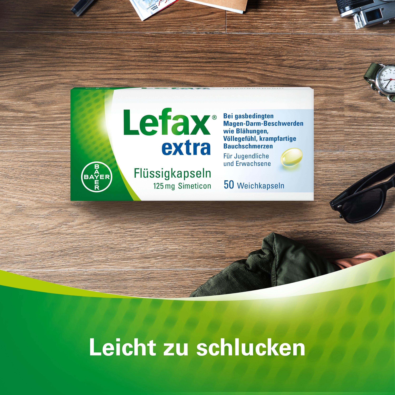 Lefax® extra Flüssigkapseln