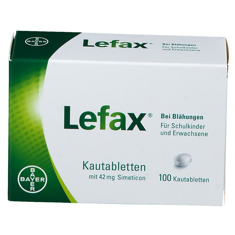 Lefax® Kautabletten gegen Blähungen
