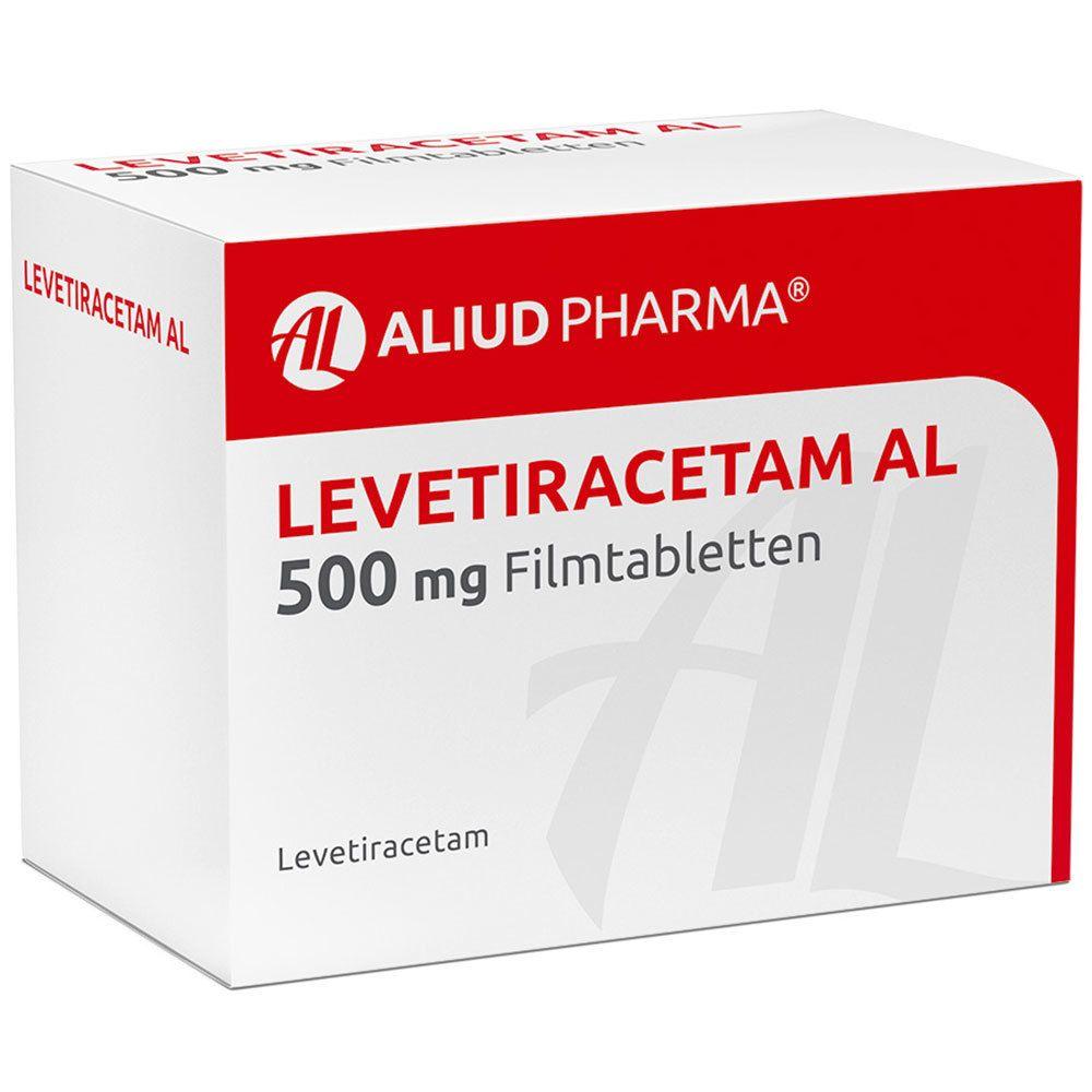 LEVETIRACETAM AL 500 mg Filmtabletten