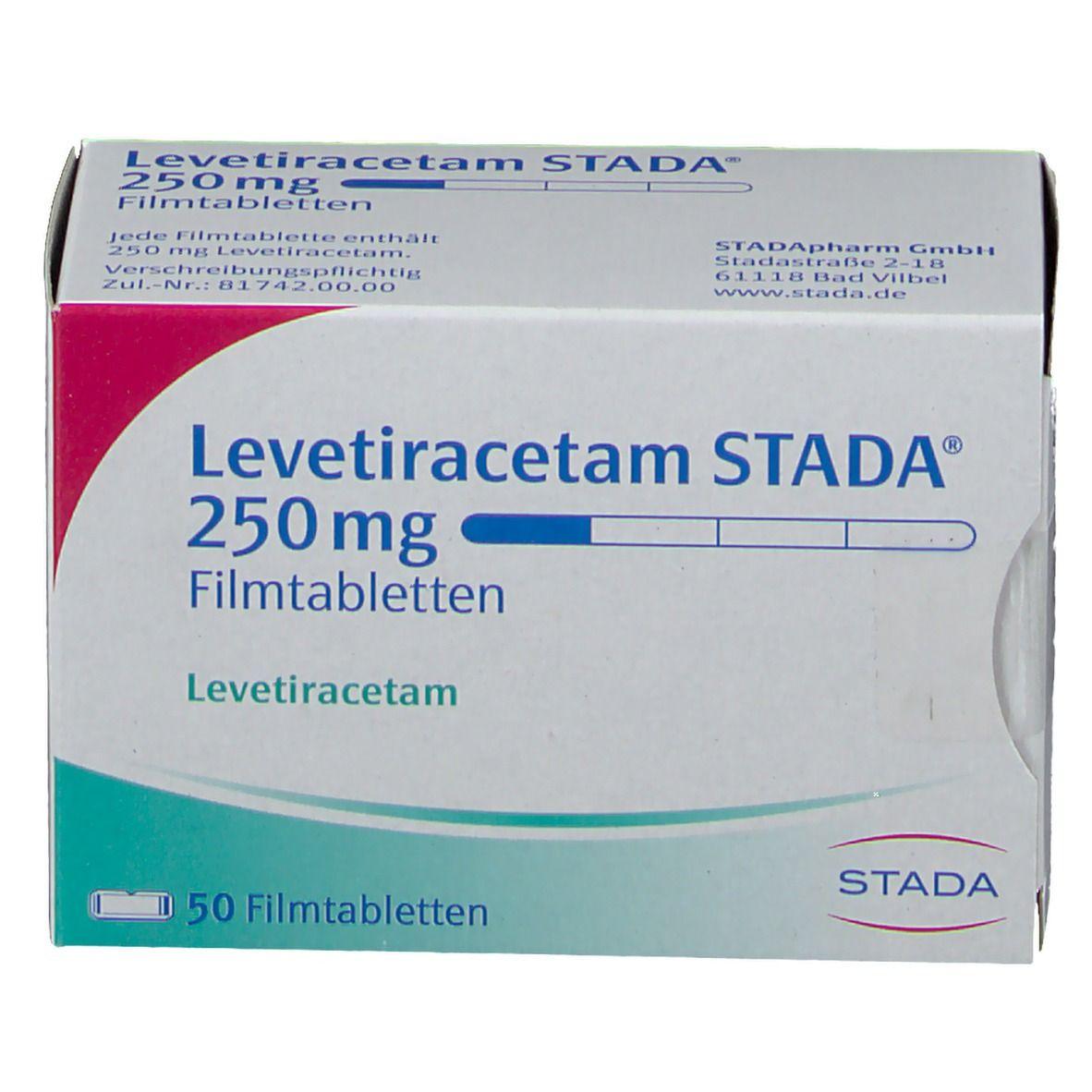Levetiracetam STADA® 250 mg Filmtabletten
