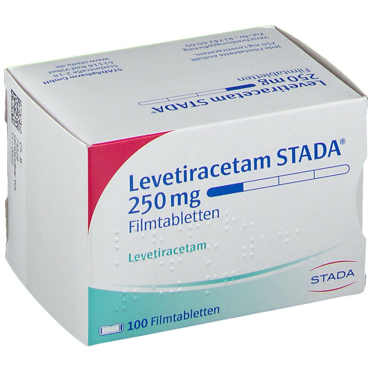 LEVETIRACETAM STADA 250 mg Filmtabletten