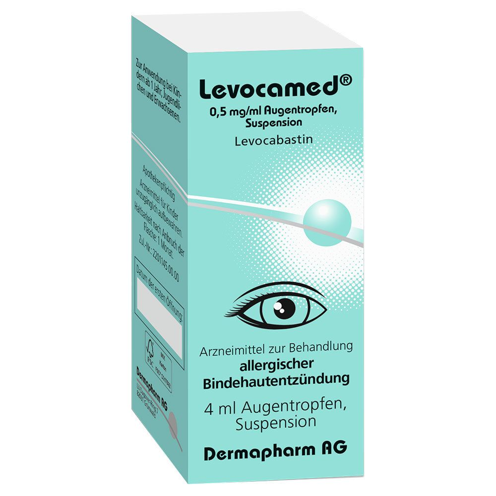 Levocamed® Augentropfen 0,5 mg/ml