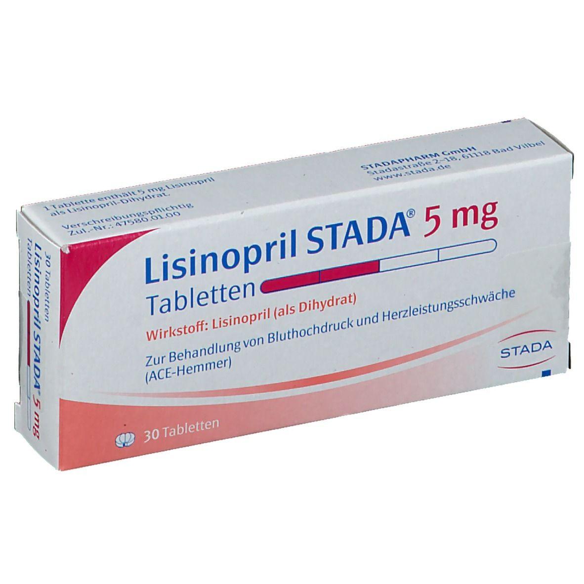 Lisinopril Stada® 5 mg Tabletten