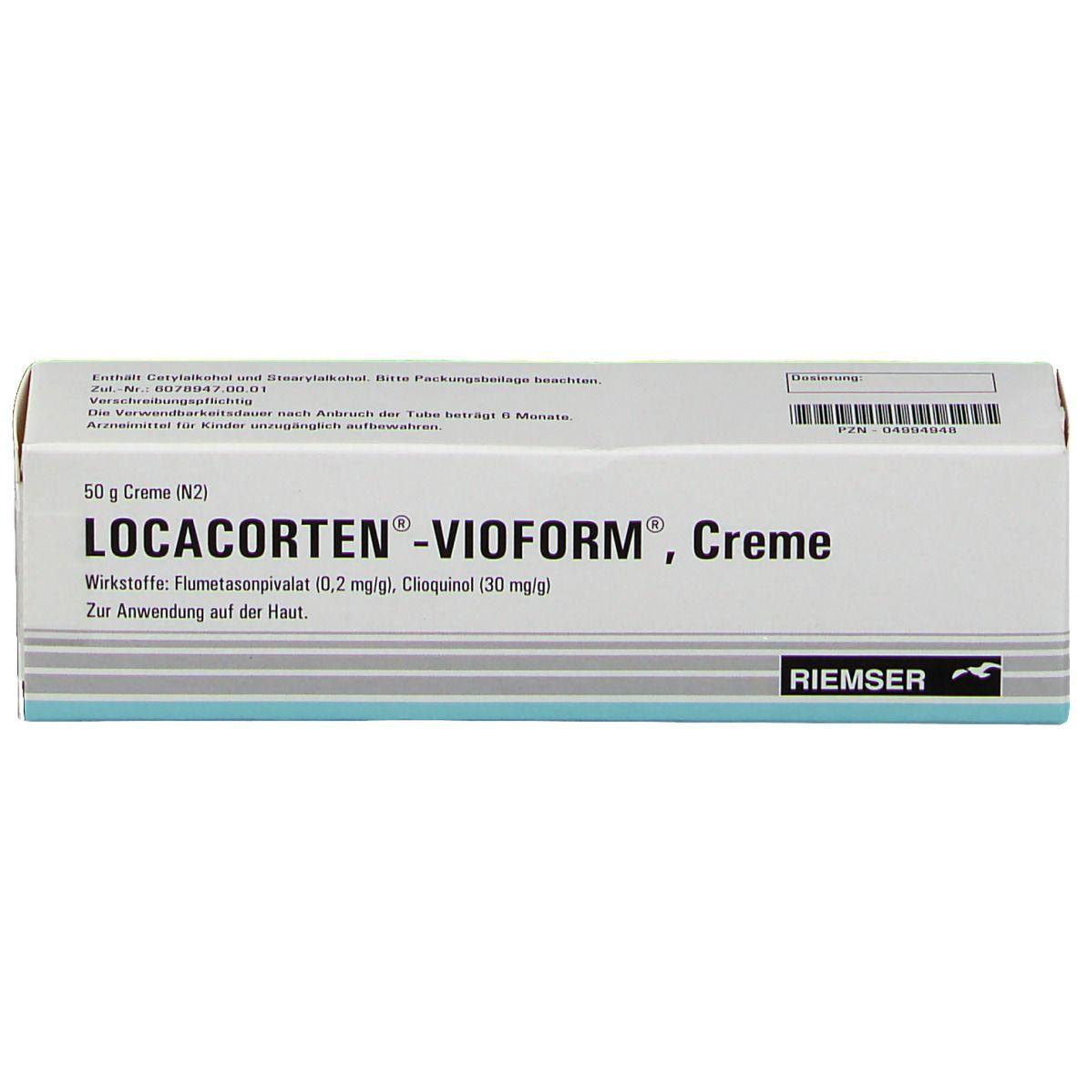 Locacorten Vioform Creme
