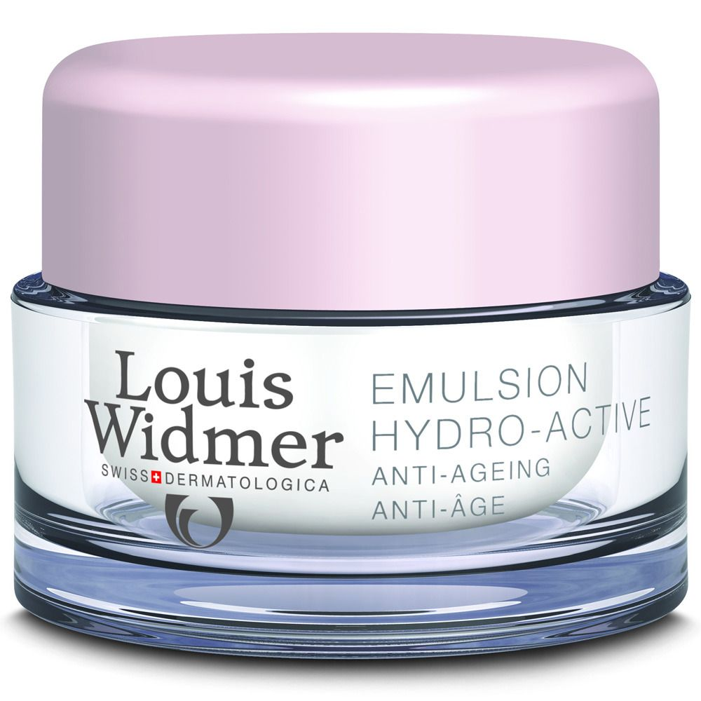 Louis Widmer Tagesemulsion Hydro-Active leicht parfümiert