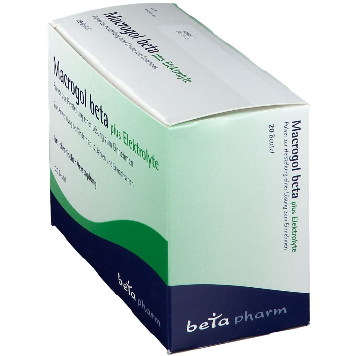 Macrogol beta plus Elektrolyte Pulver