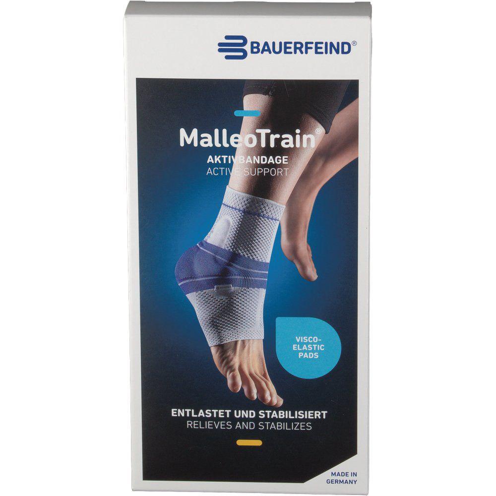 MalleoTrain® Sprunggelenkbandage rechts Gr.4 titan