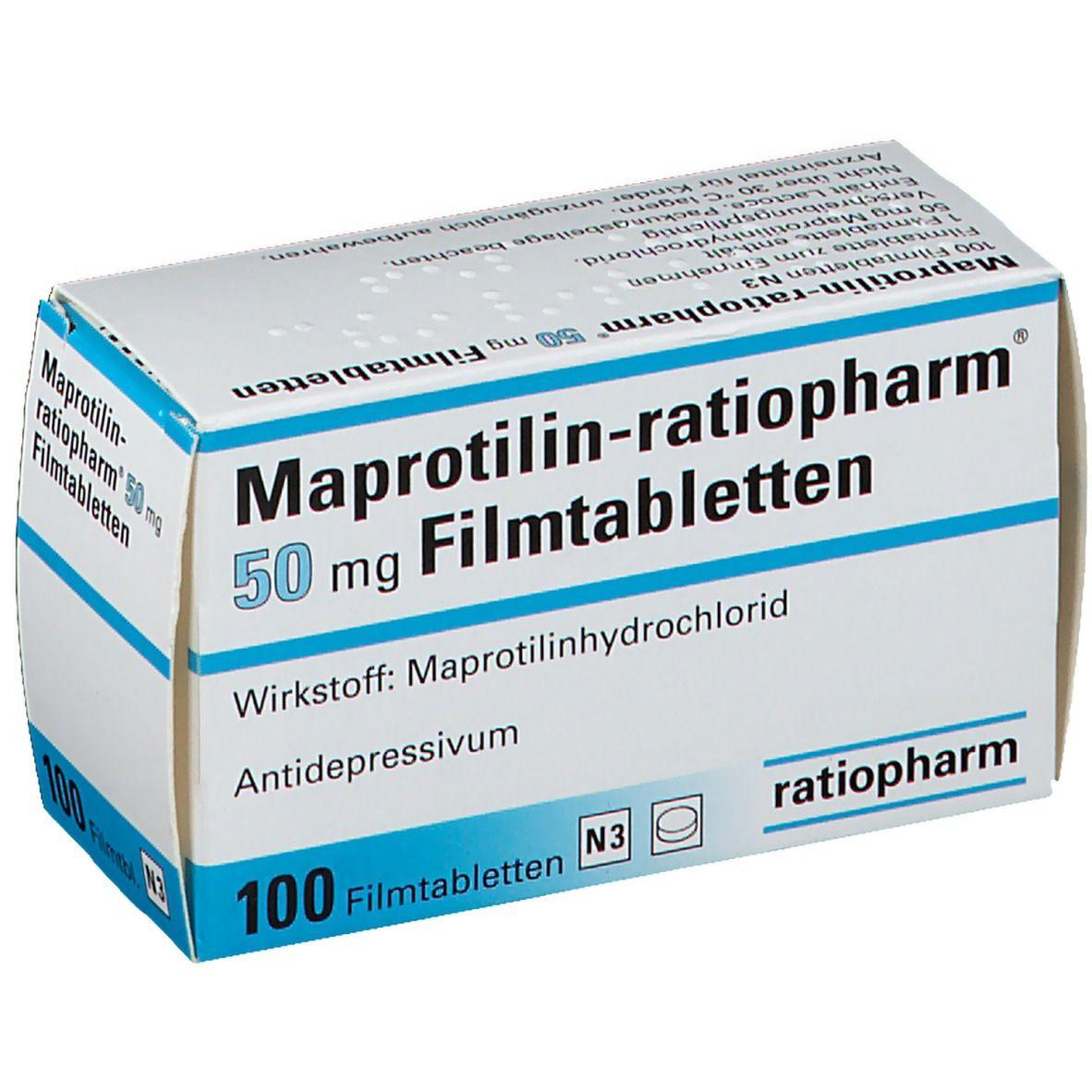 Maprotilin-ratiopharm® 50 Filmtabletten