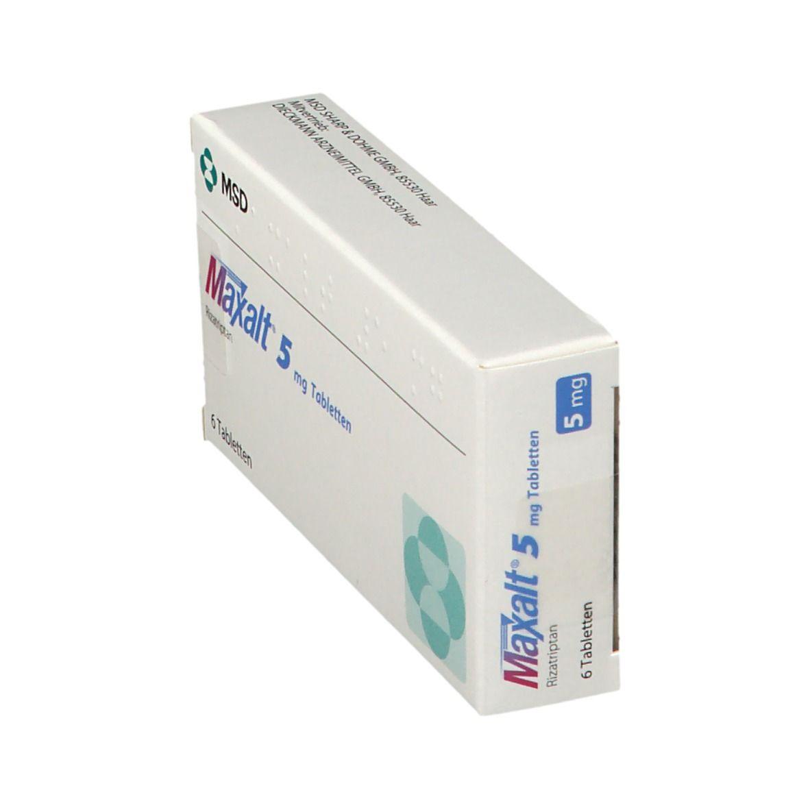 Maxalt 5 mg Tabletten