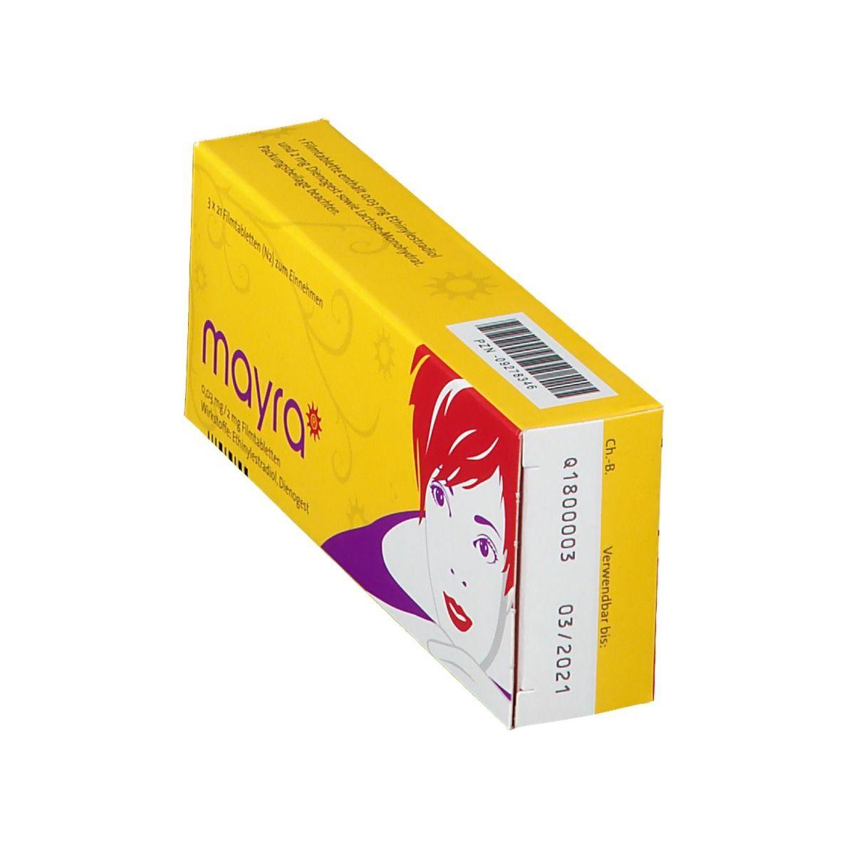 Mayra 0,03 mg/2 mg