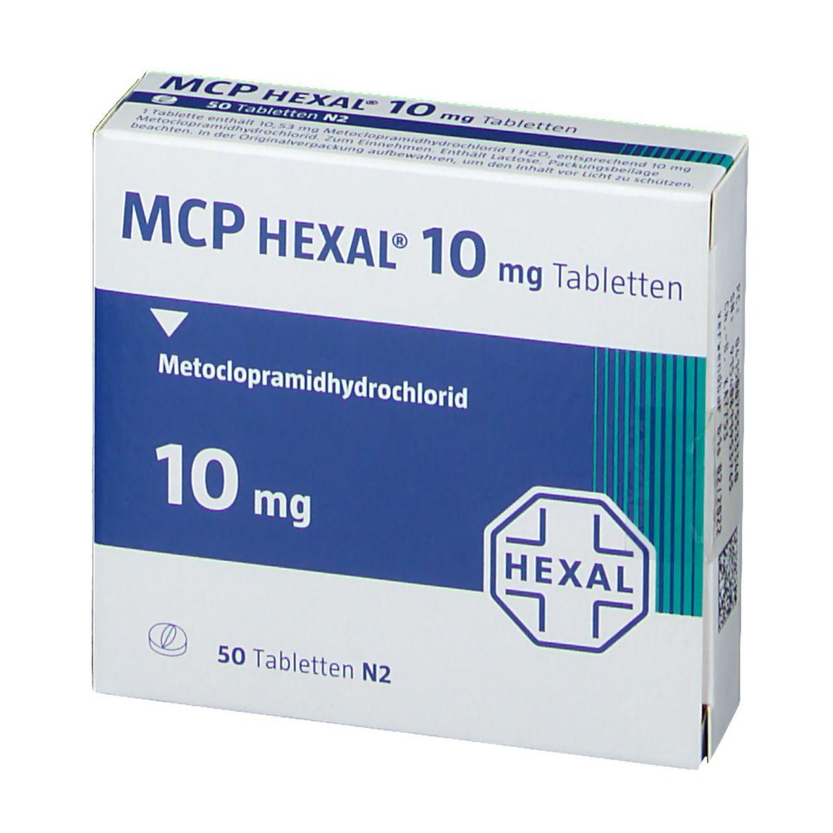 Mcp Hexal 10 Tabletten