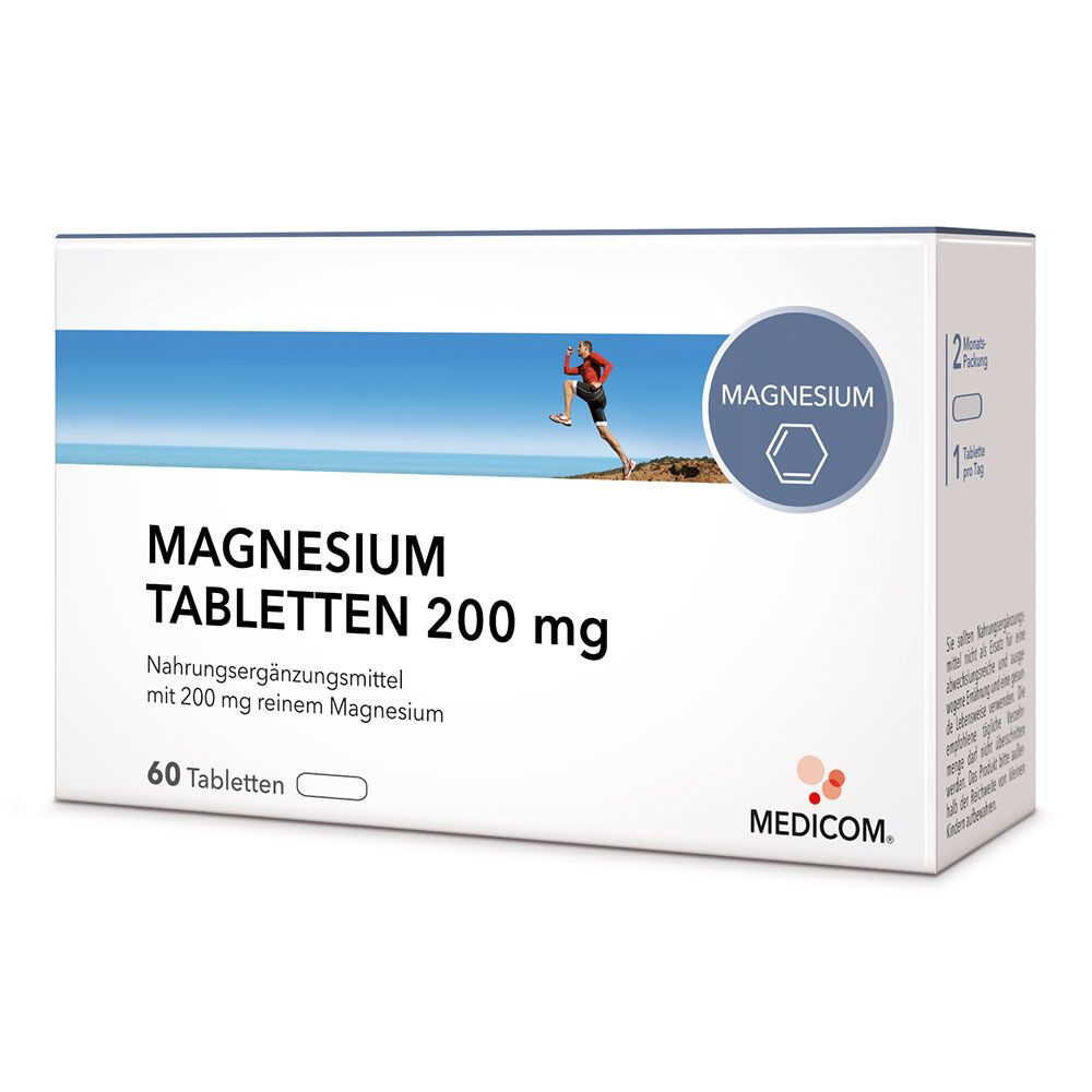 MEDICOM® Magnesium Tabletten 200 mg
