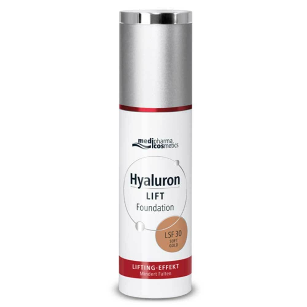 medipharma cosmetics Hyaluron Lift Foundation LSF30 Soft Gold
