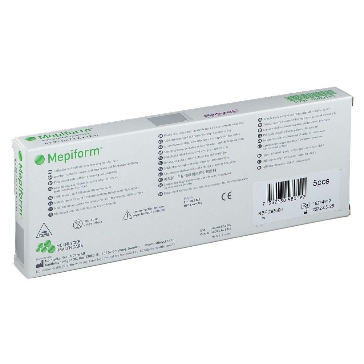 Mepiform® Nerbenverband 4 x 30 cm
