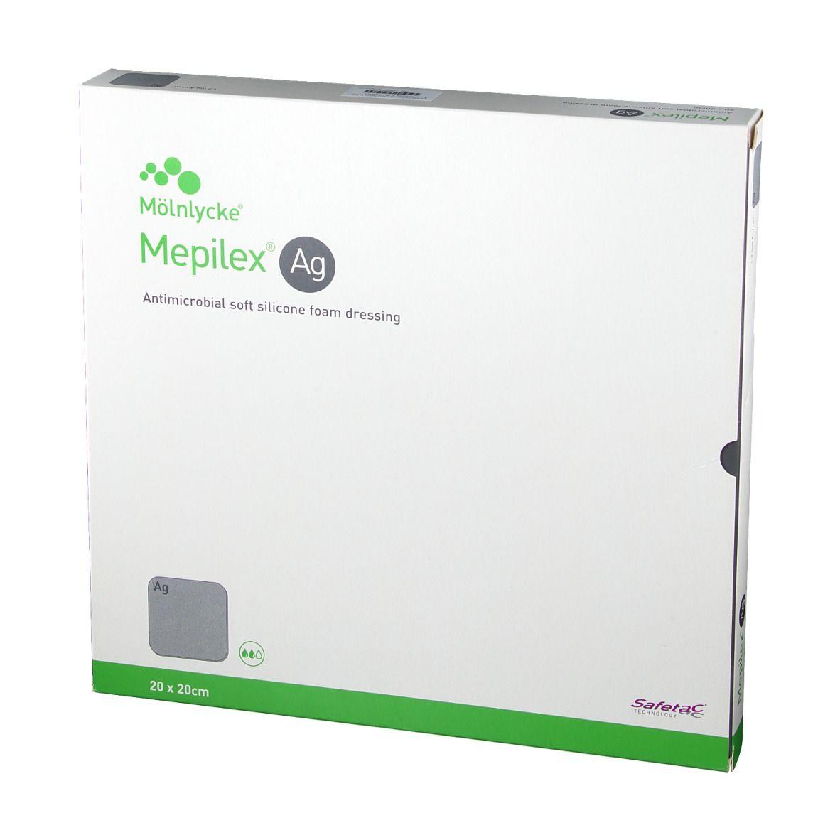 Mepilex® Ag 20 x 20 cm