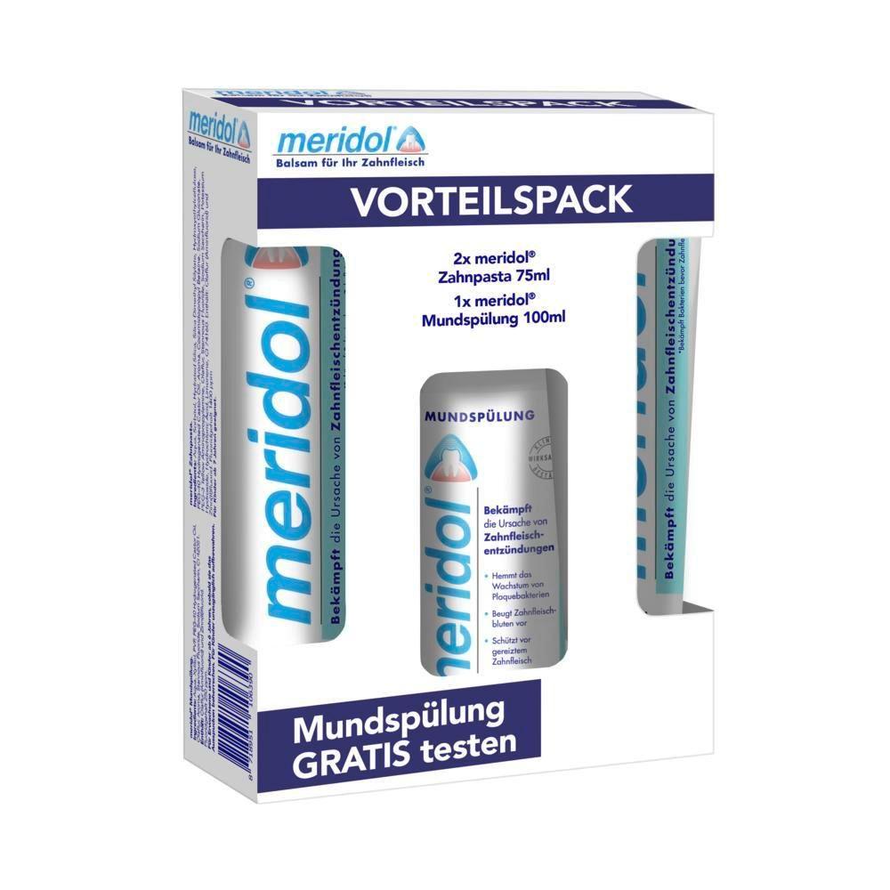 meridol® Zahnpasta + Spülung