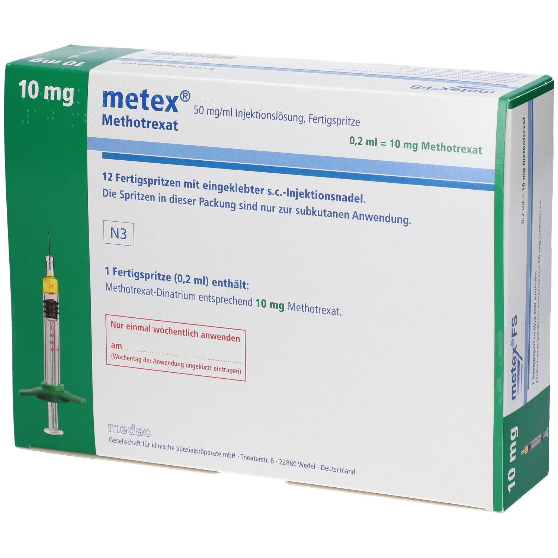 Metex FS 10 mg 50 mg/ml Fertigspritzen