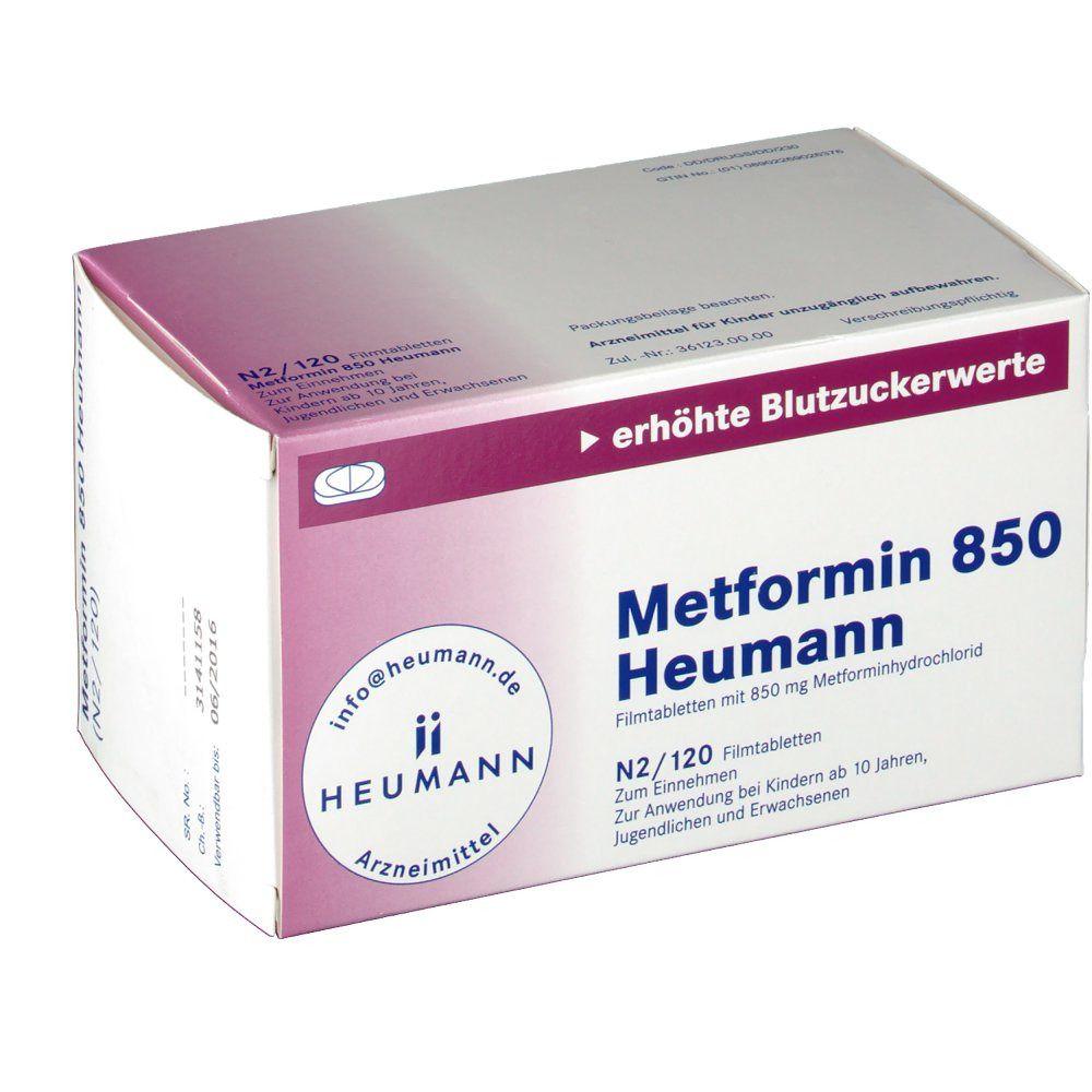 Metformin 850 Heumann Filmtabletten