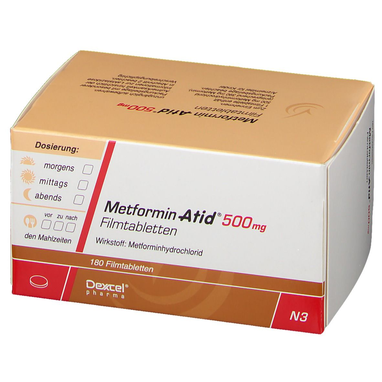 METFORMIN Atid 500 mg