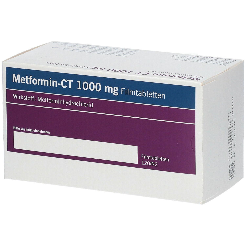 Metformin-CT 1000 mg 120 St - shop-apotheke.com