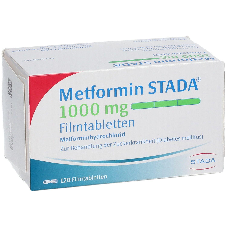 Metformin STADA® 1000 mg Filmtabletten 120 St - shop