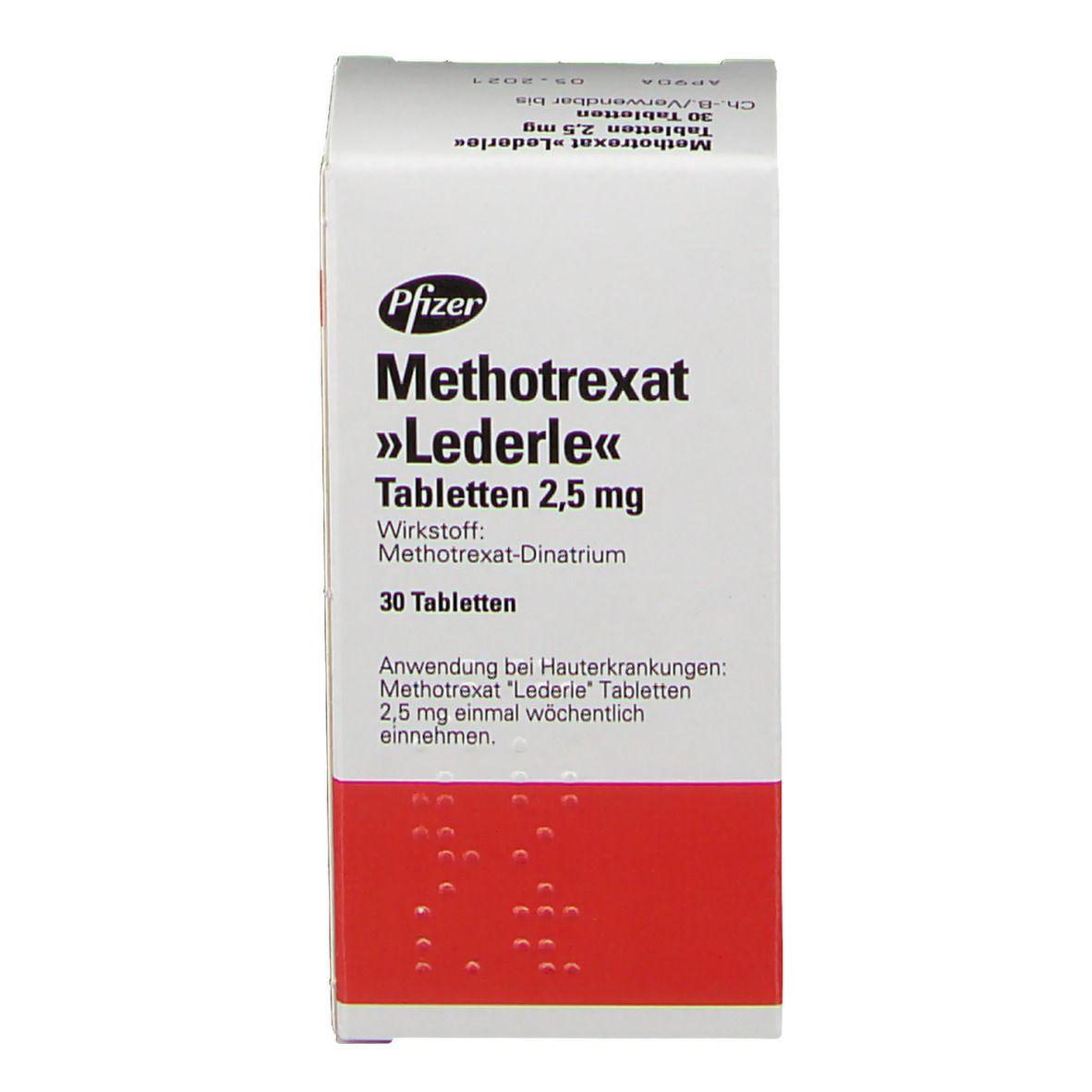 Methotrexat Lederle 2,5 mg Tabl.