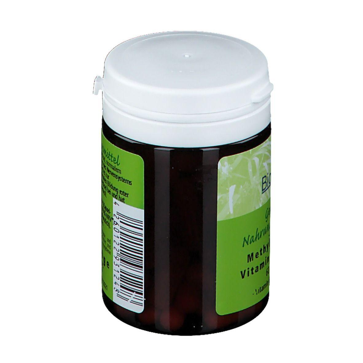 Methylcobalamin Vitamin B12 100 µg hochdosiert