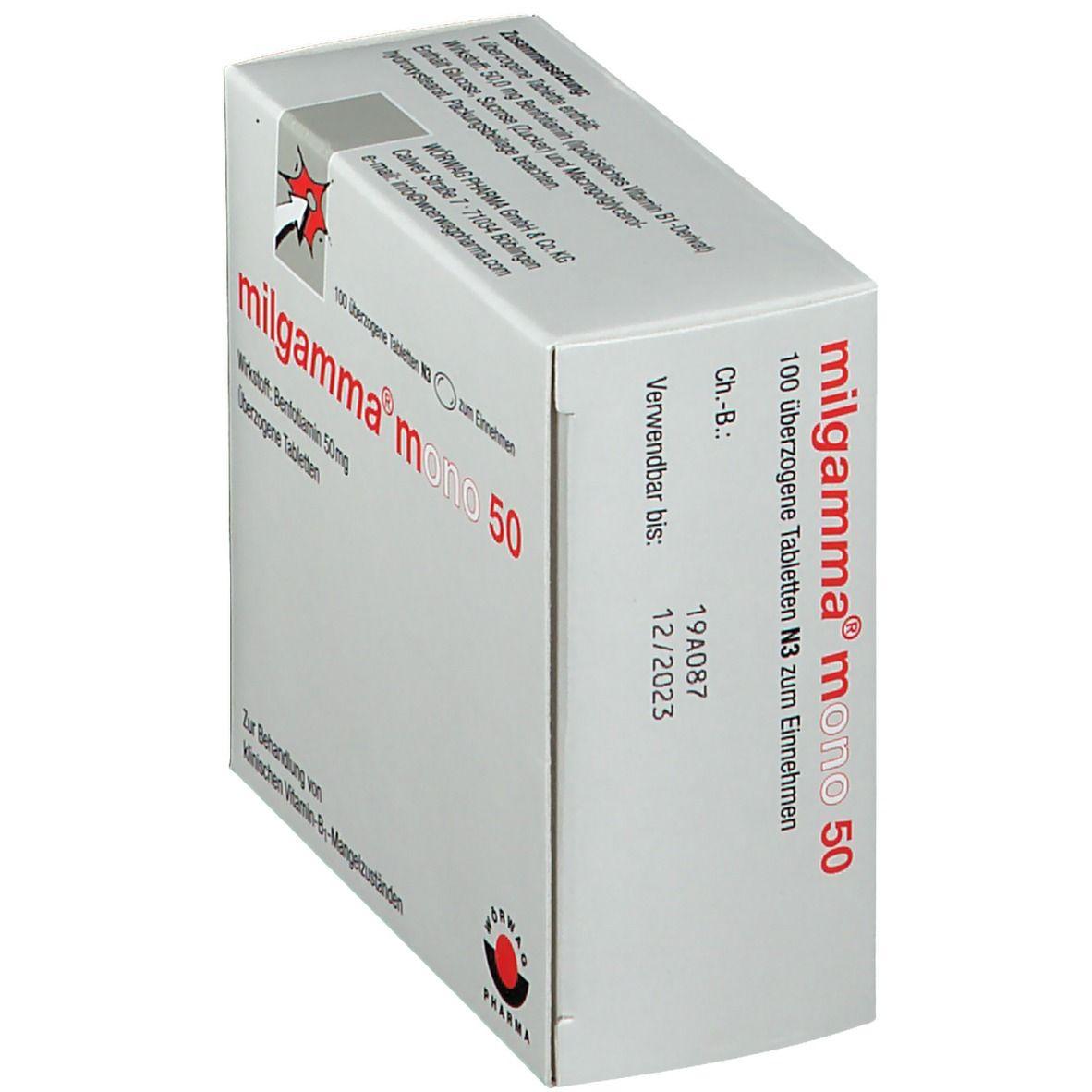 milgamma® mono 50