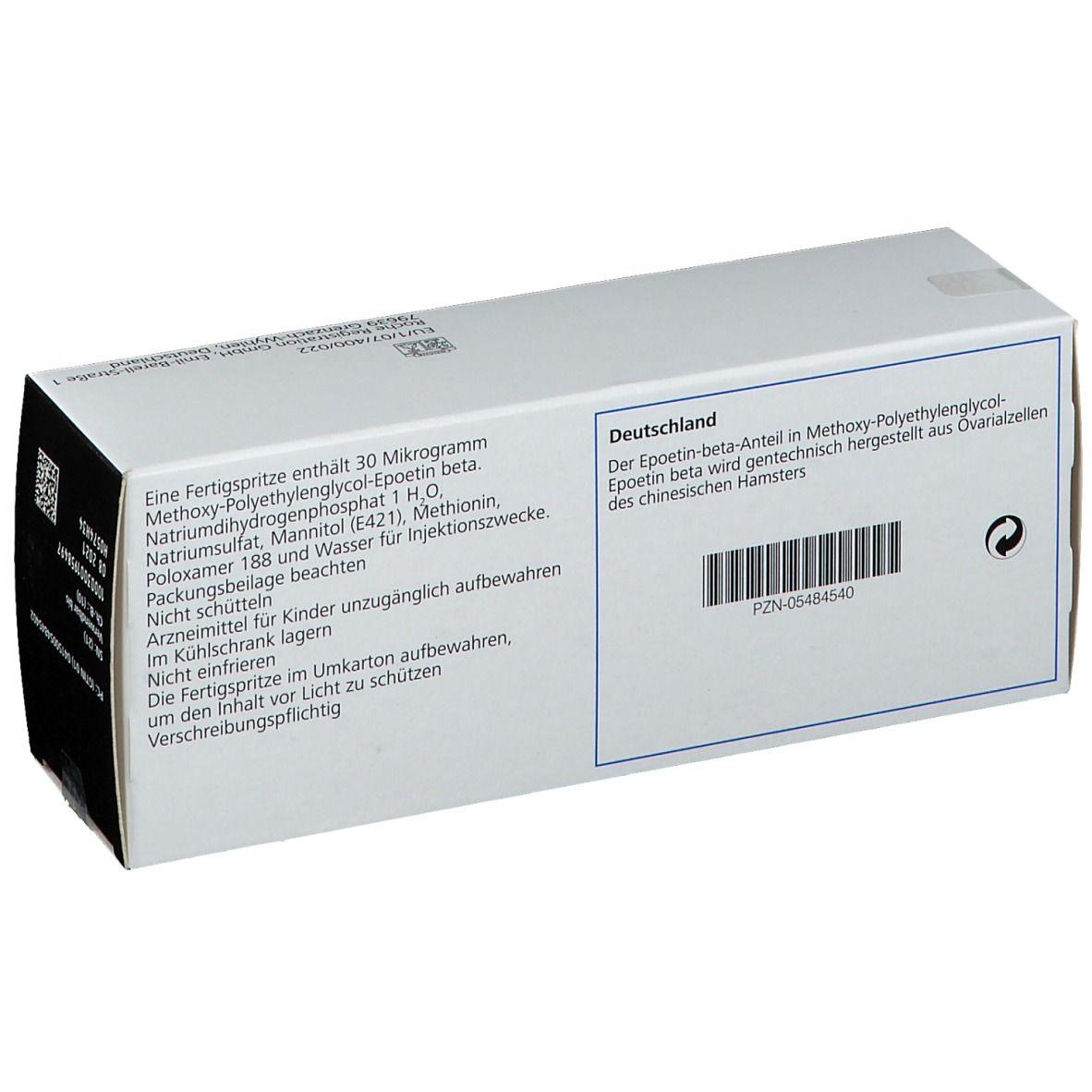 MIRCERA 30 µg 0,3 ml Fertigspritzen