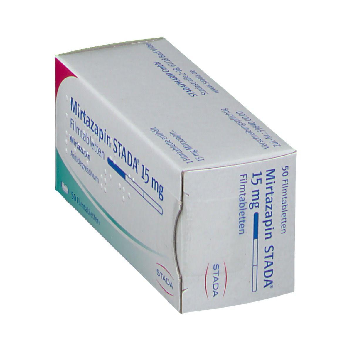 Mirtazapin Stada® 15 mg Filmtabletten