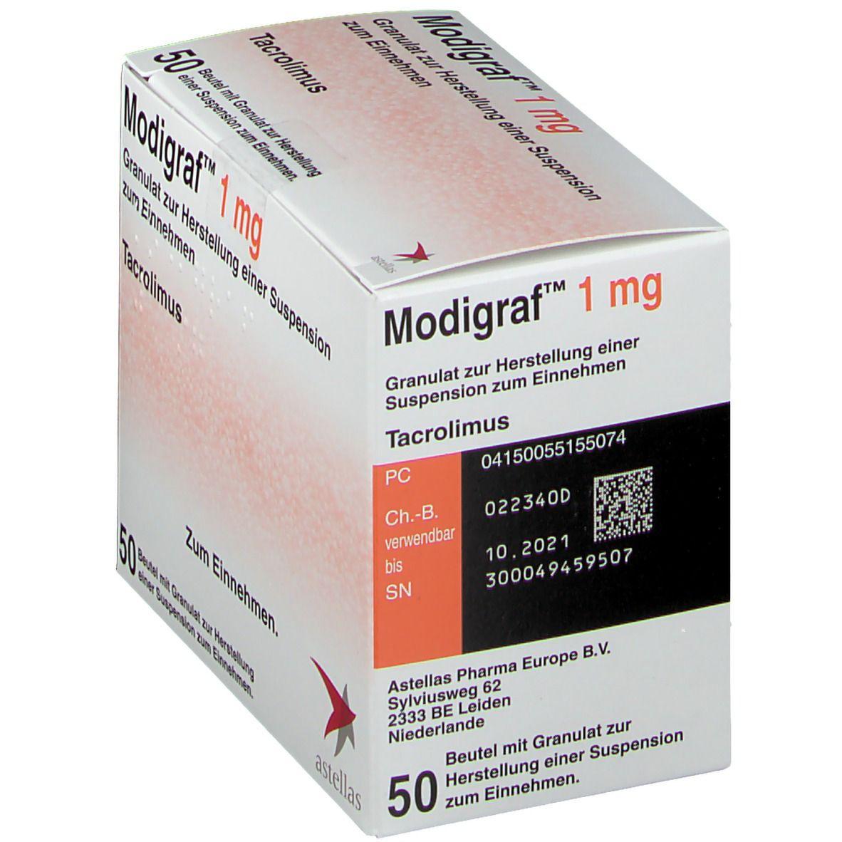 MODIGRAF 1 mg Granulat