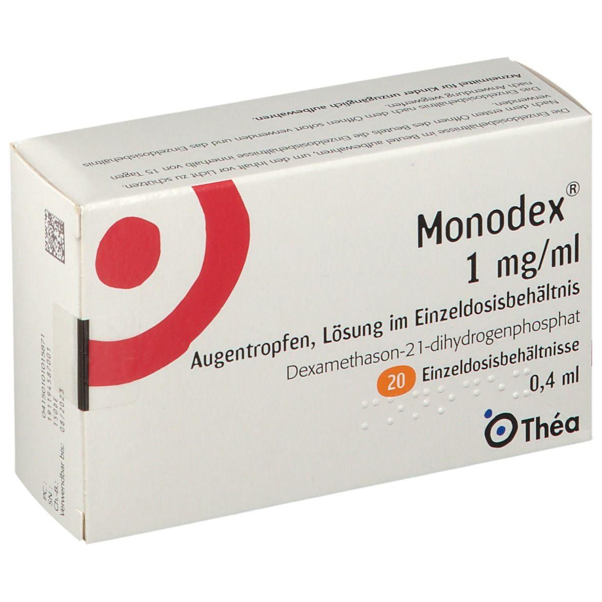 MONODEX 1MG/ML AUGENTROPF