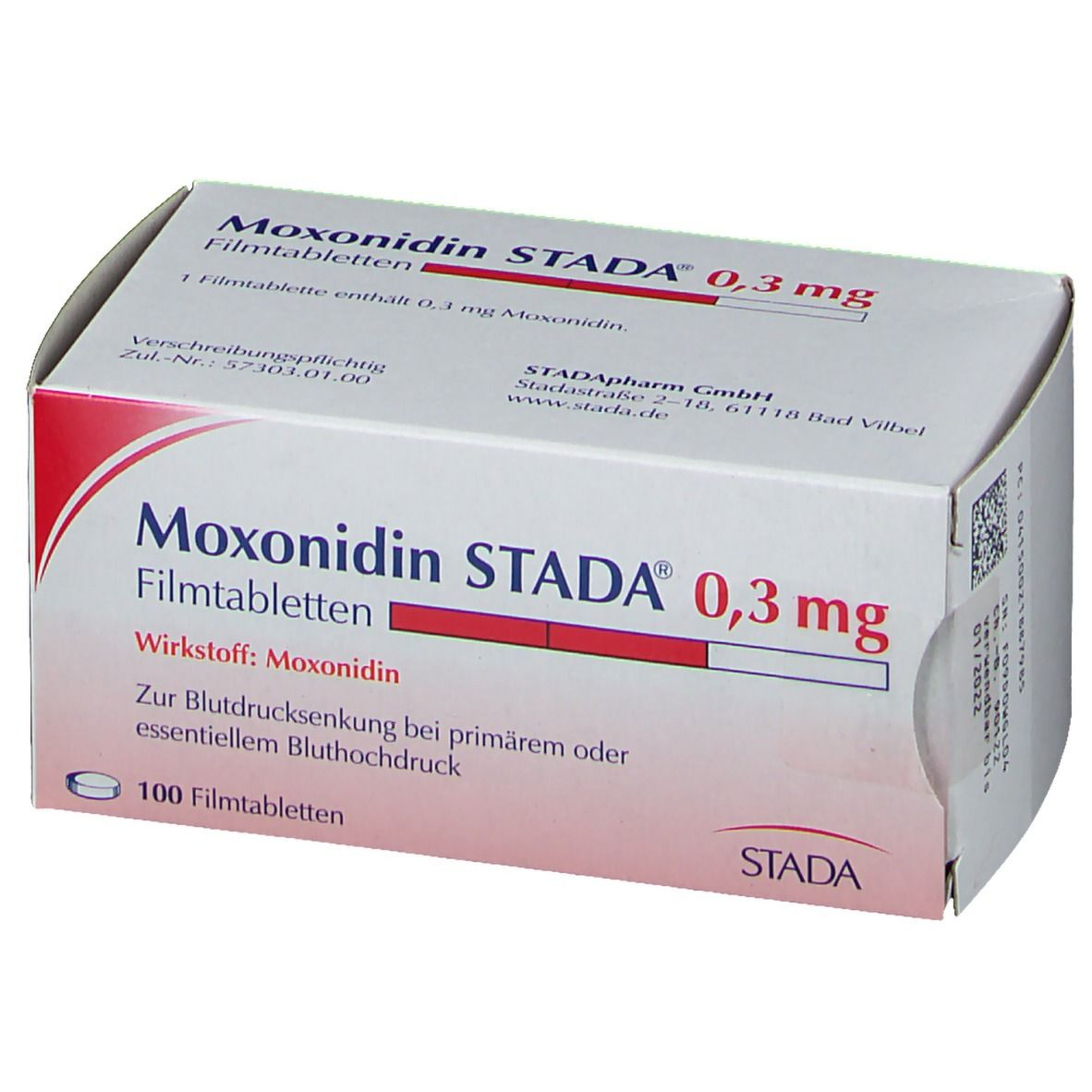 Moxonidin STADA® 0,3 mg Filmtabletten