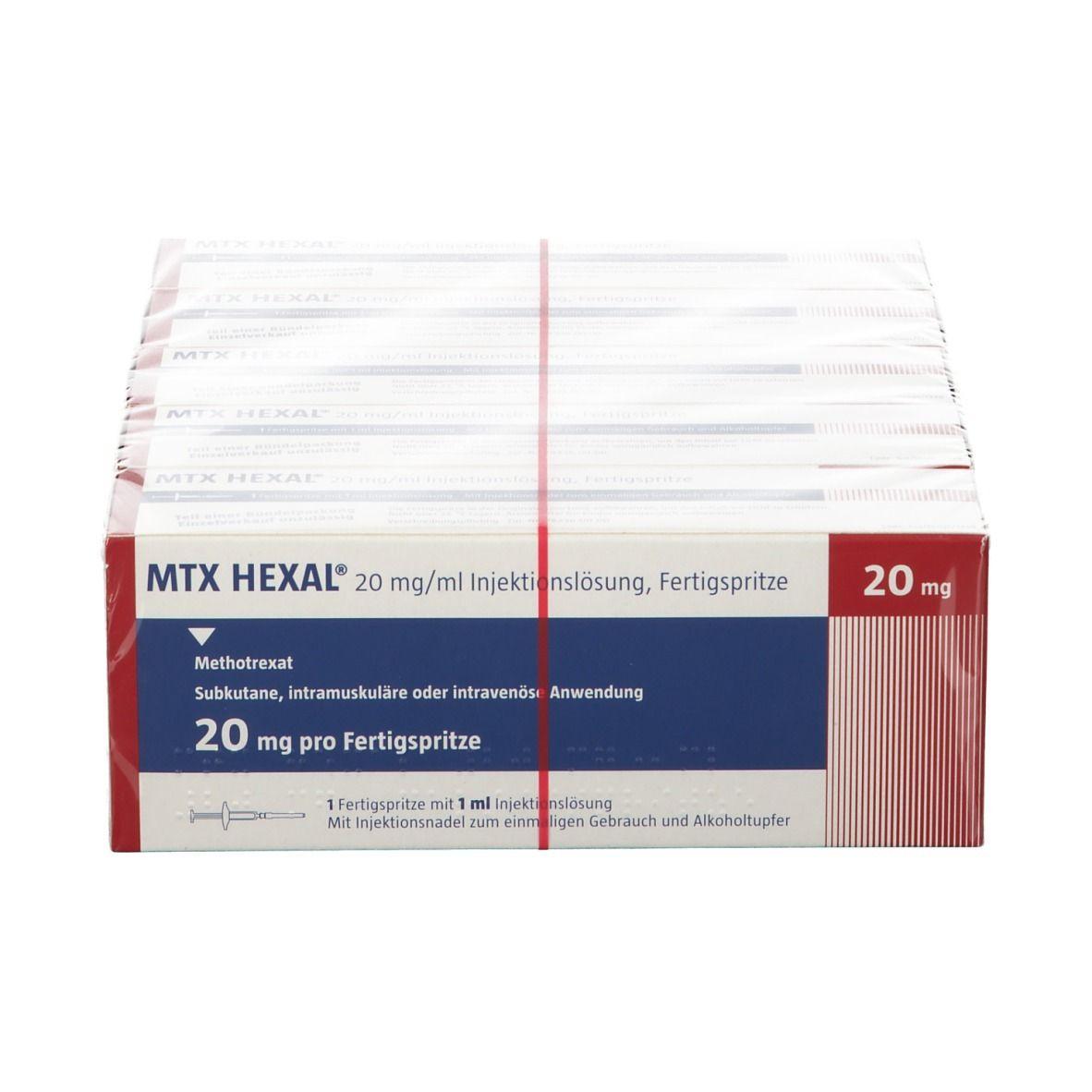 MTX HEXAL® 20 mg/ml Injektionslösung Fertigspritze