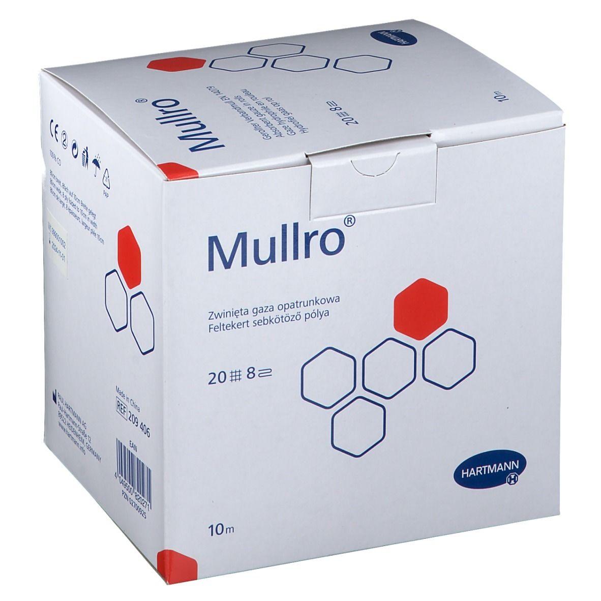 Mullro® Verbandmull gerollt 10m x 10cm