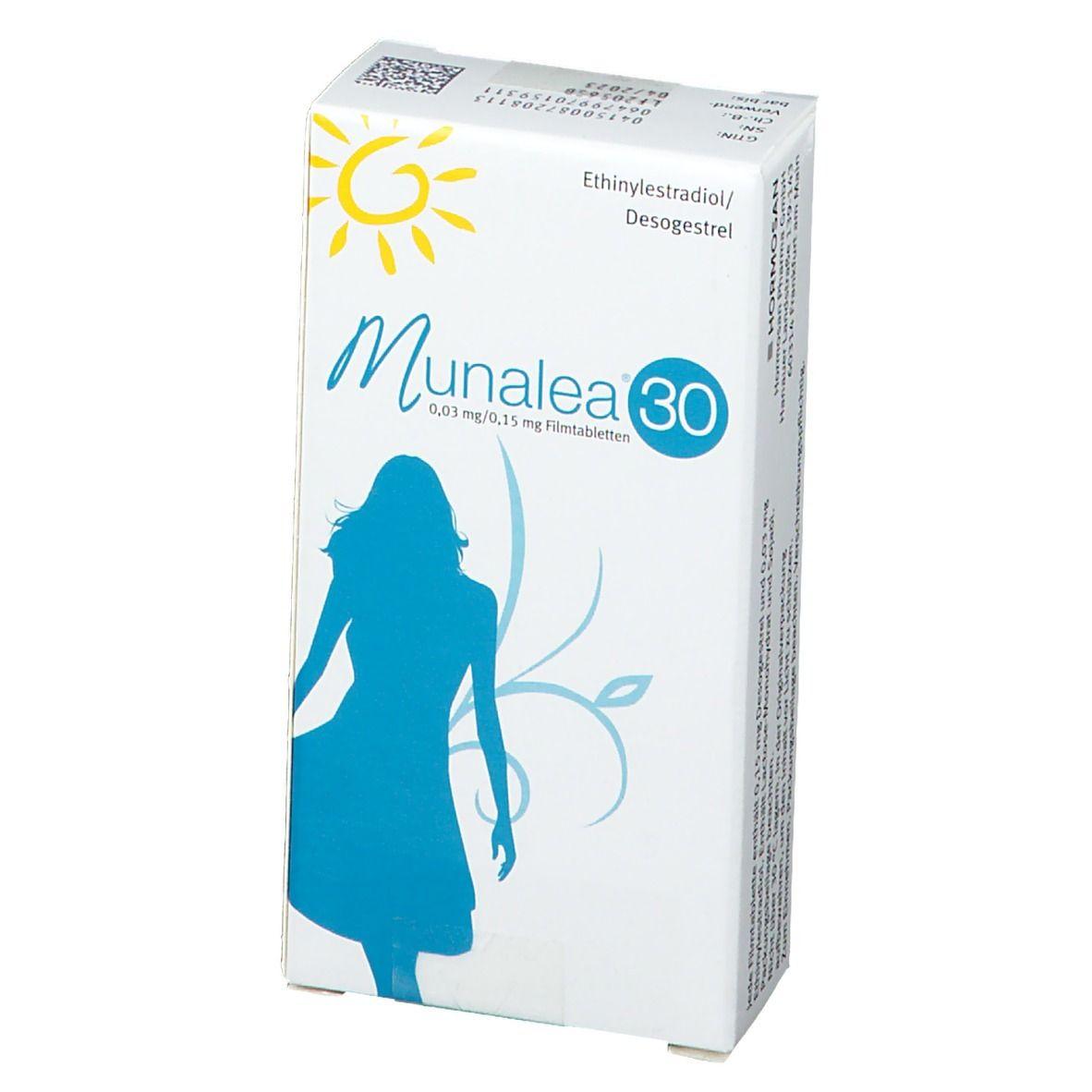 MUNALEA 30 0.03MG/0.15MG 1X21 St - shop-apotheke.com
