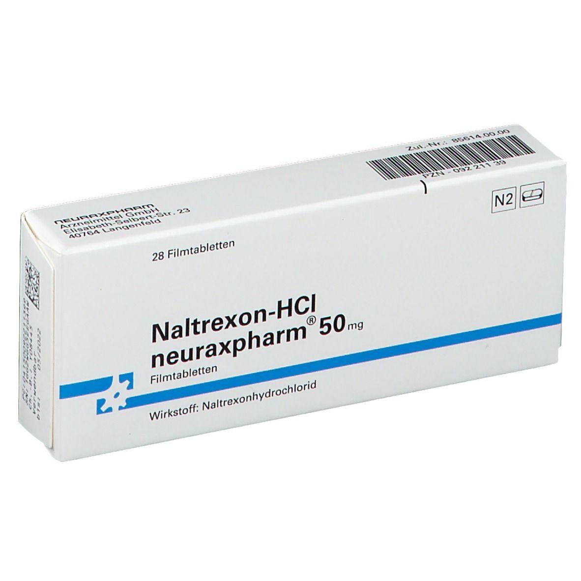 NALTREXON HCl neuraxpharm 50 mg Filmtabletten