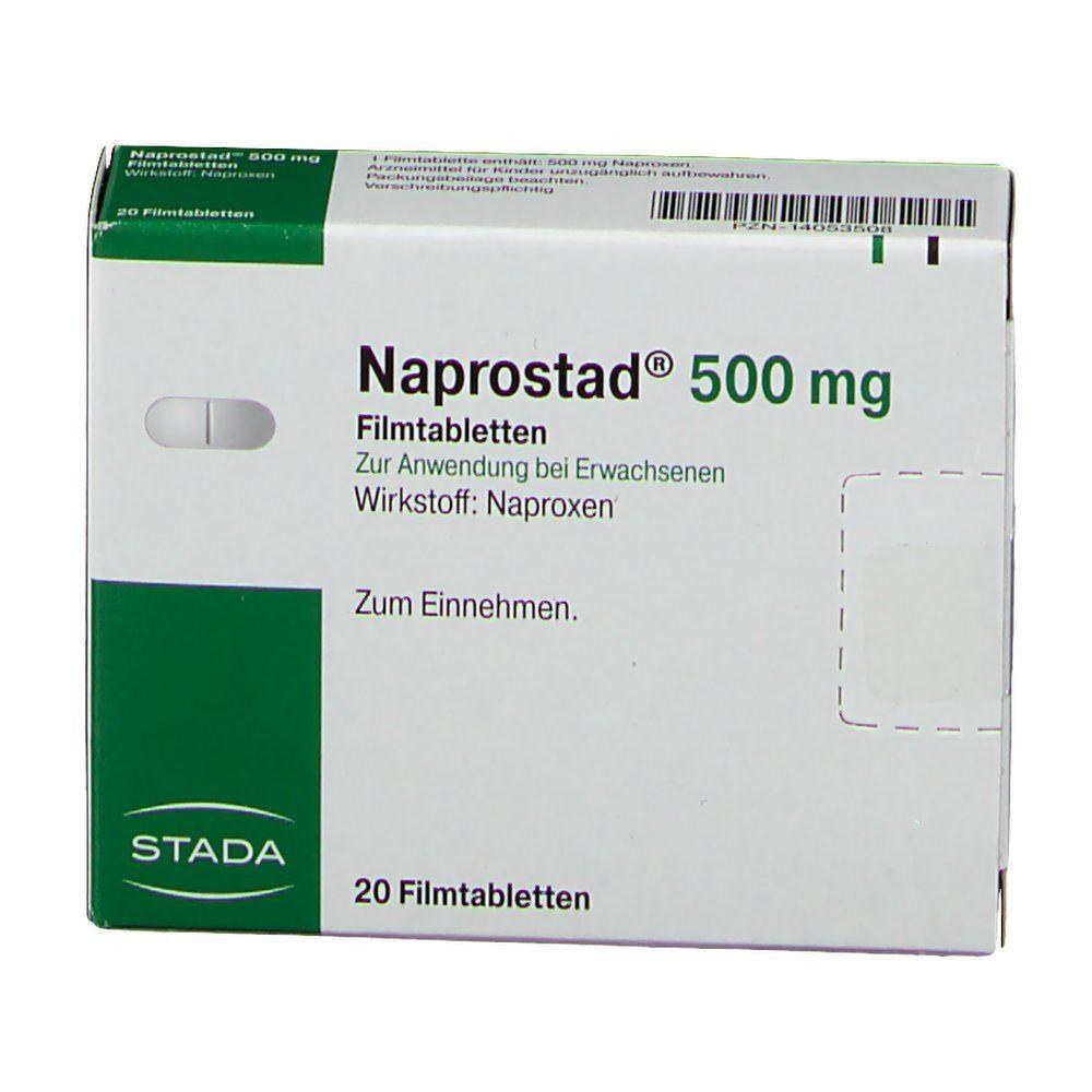 NAPROSTAD 500 mg Filmtabletten