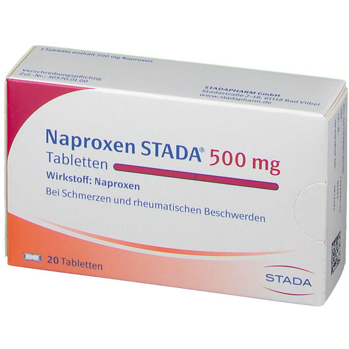 Naproxen STADA® 500 mg