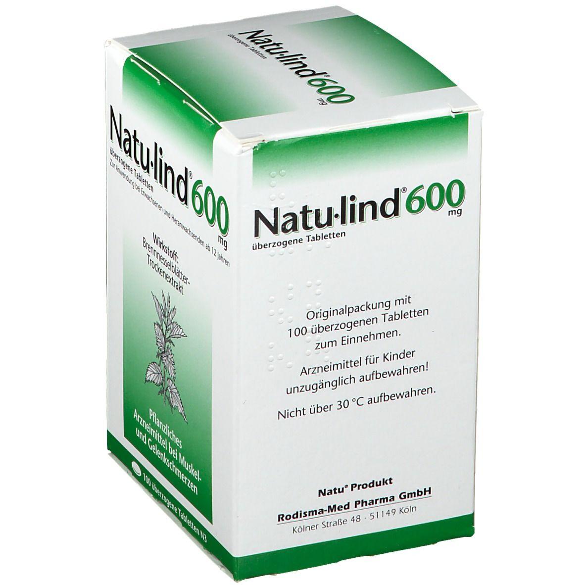 Natu-lind® 600 mg