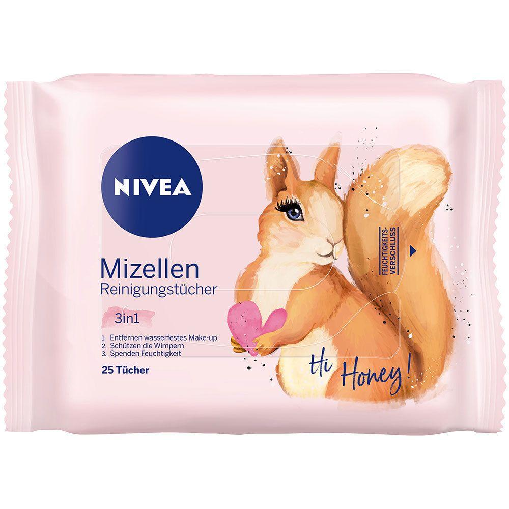 NIVEA®  3in1 Mizellen Reinigungstücher (Motiv nicht wählbar)