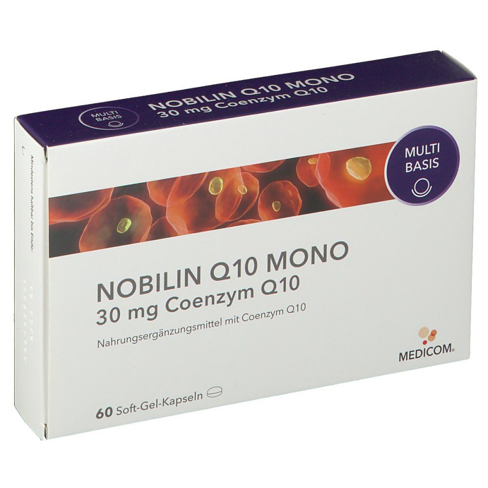 NOBILIN Q10 MONO 30 mg