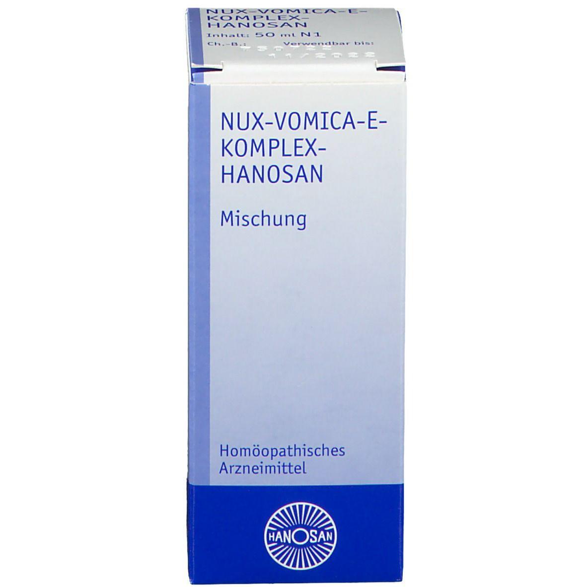 NUX VOMICA-E-KOMPLEX HANOSAN