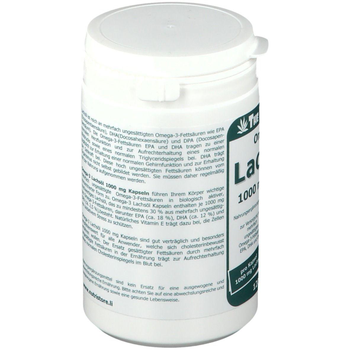 Omega-3 Lachsöl 1000 mg Kapseln